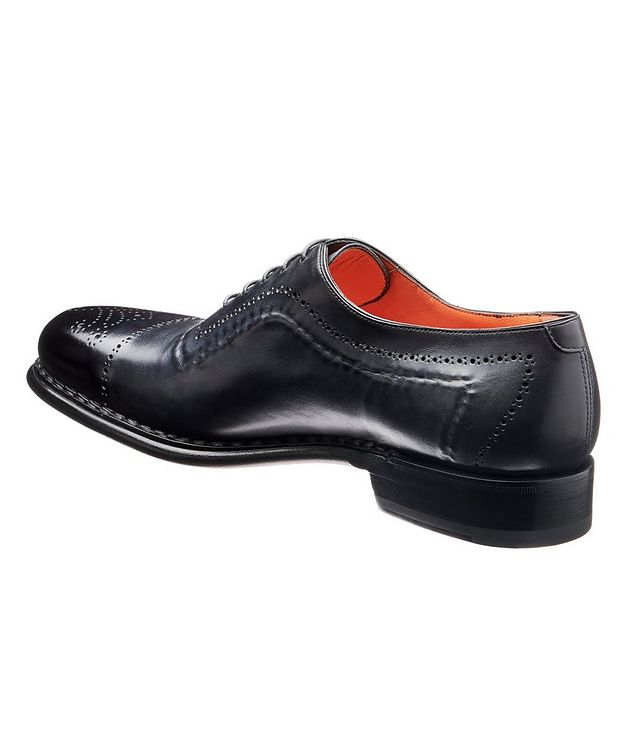 Whole-Cut Leather Oxford Brogues picture 2