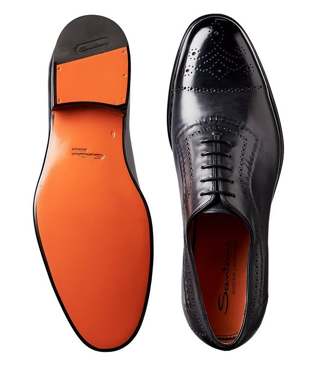 Whole-Cut Leather Oxford Brogues picture 3