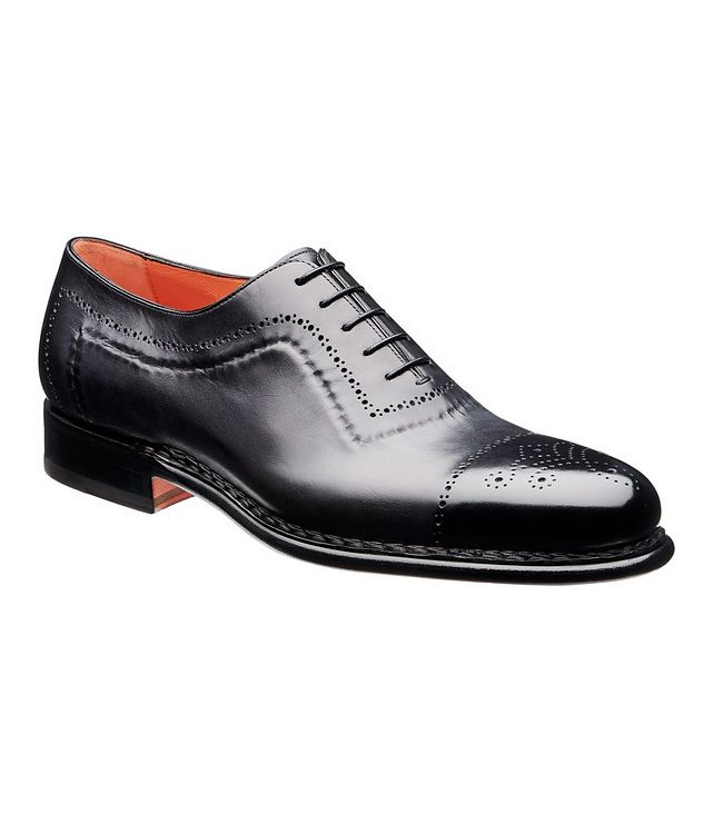 Whole-Cut Leather Oxford Brogues picture 1