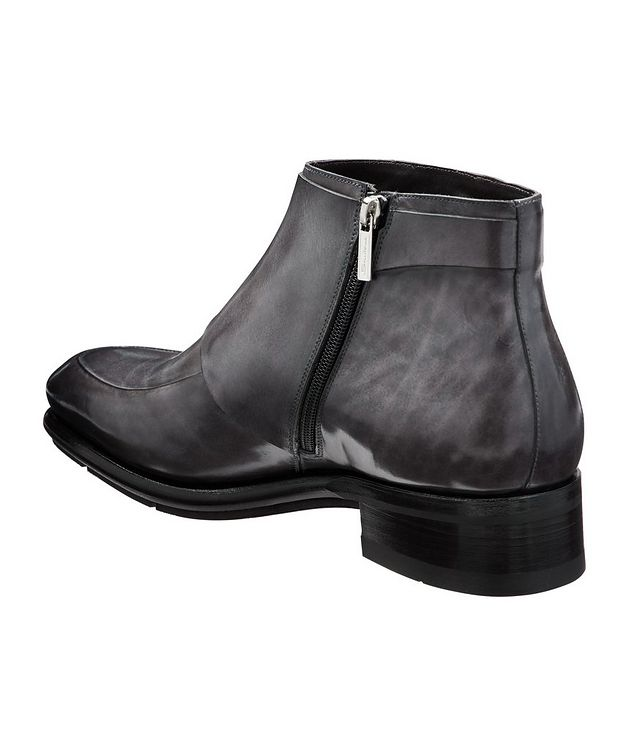 Leather Double-Monk Boots picture 2