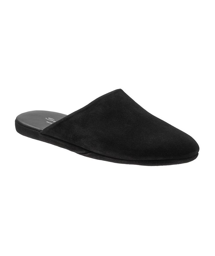 Suede House Slippers image 0