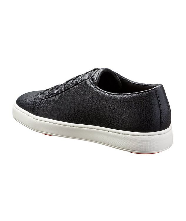 Deerskin Low-Top Sneakers picture 2