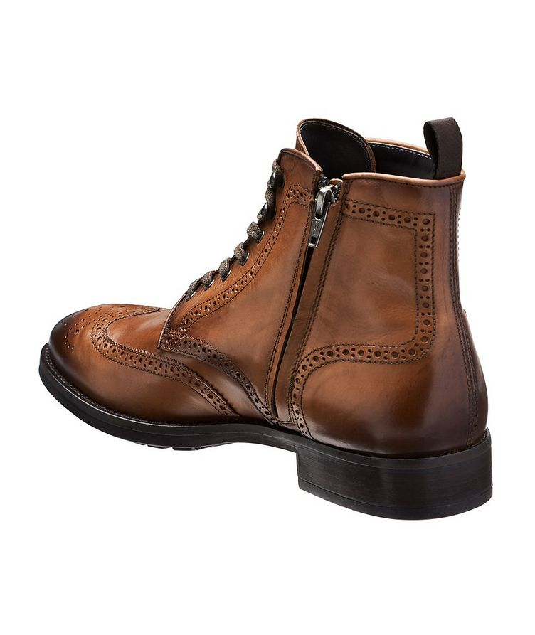 Aukland Wingtip Leather Boots image 1