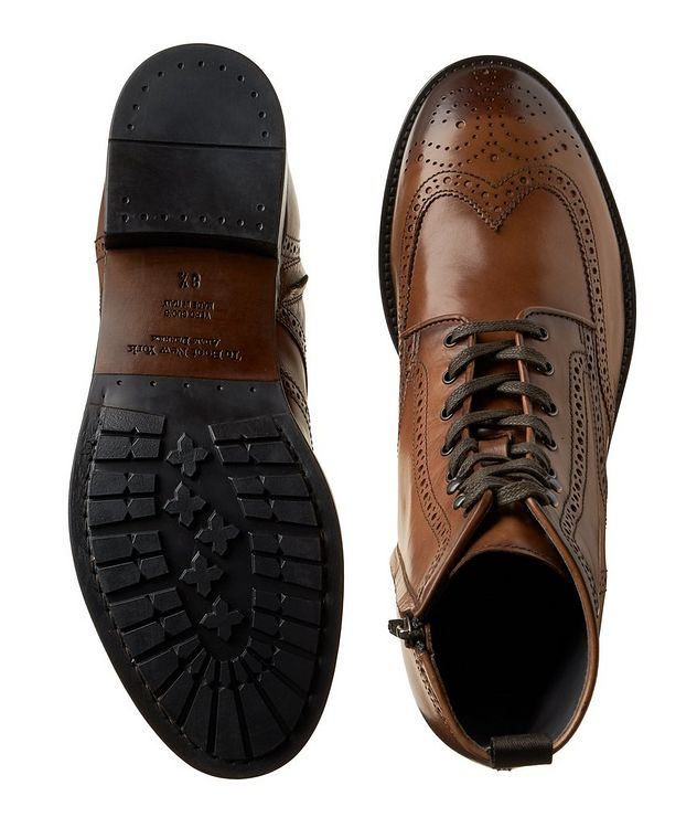 Aukland Wingtip Leather Boots picture 3