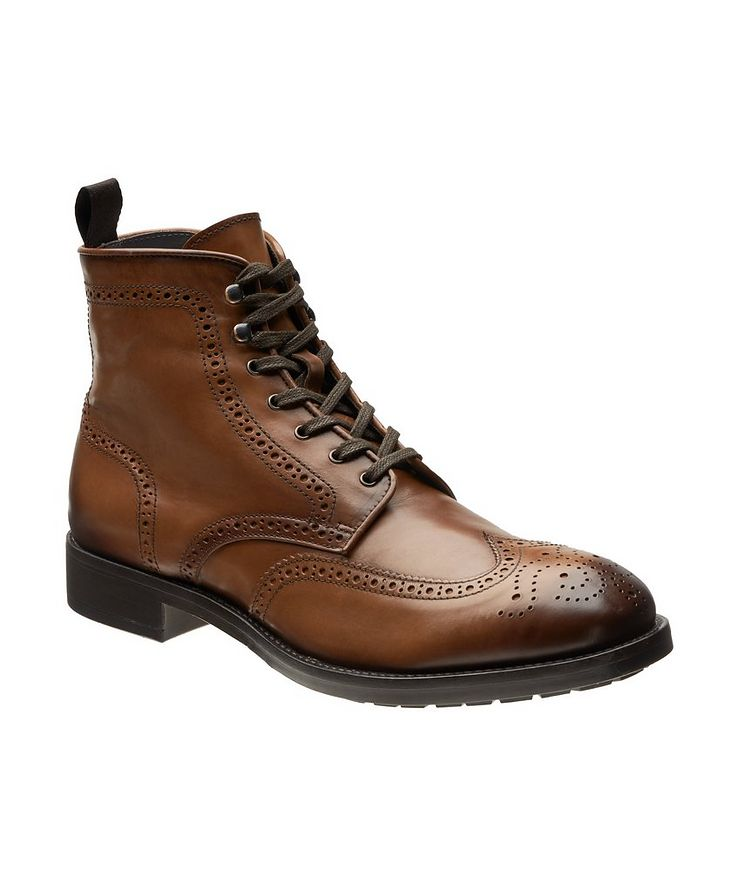 Aukland Wingtip Leather Boots image 0