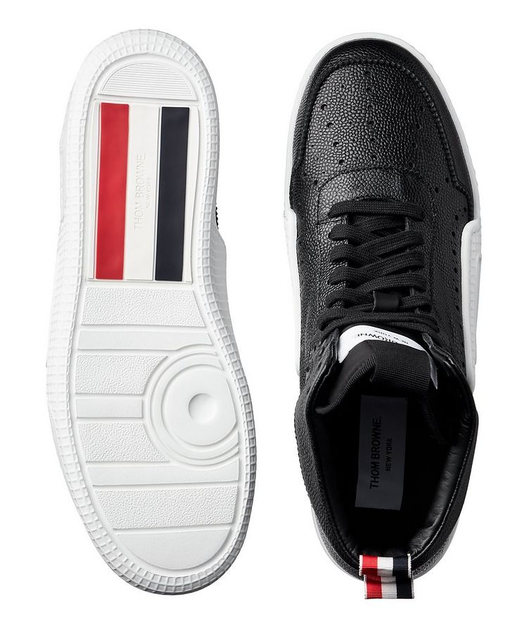 Basketball High-Top Leather Sneakers image 2