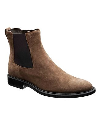 Tod's Suede Chelsea Boot