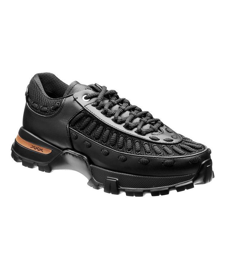 Claudio Leather & Mesh Sneakers image 0