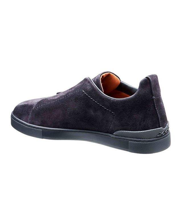 Suede Triple Stitch Sneakers picture 2