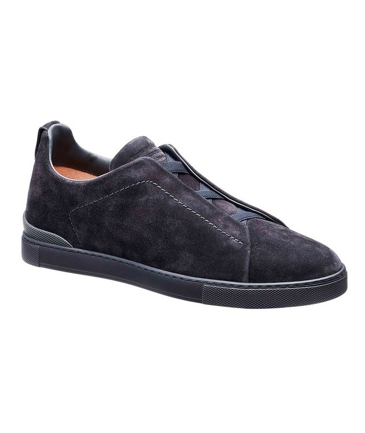 Suede Triple Stitch Sneakers image 0
