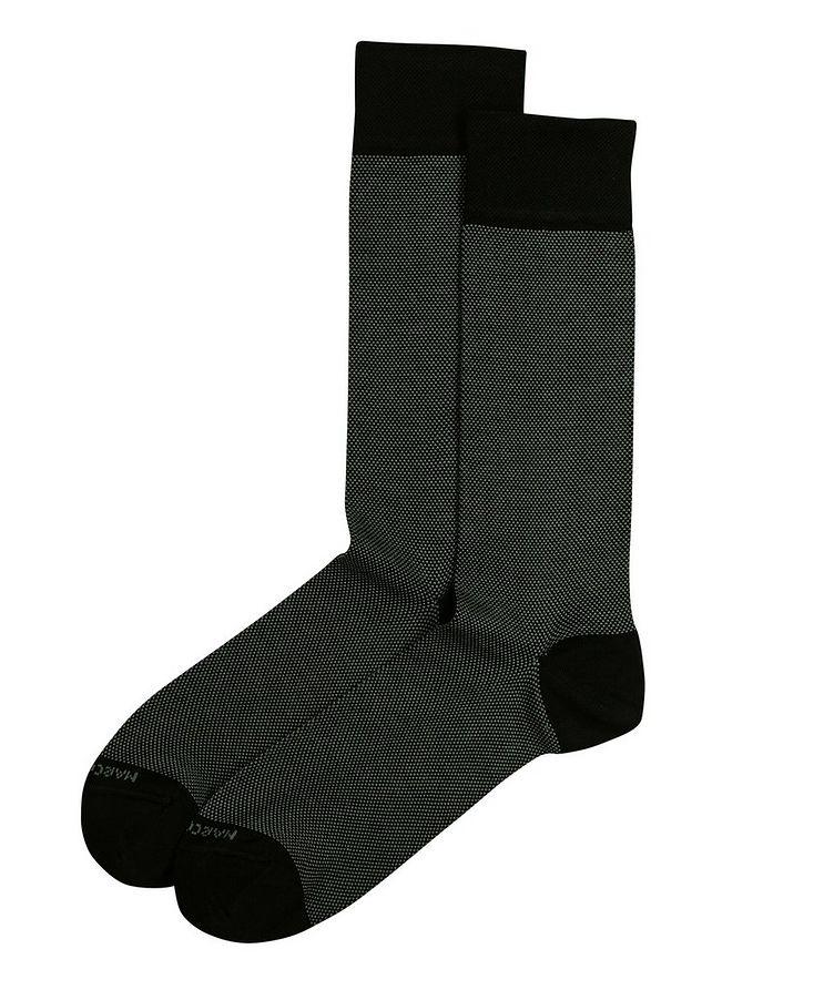Chaussettes imprimées en mélange de coton image 0