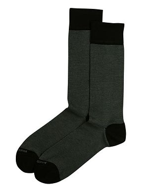 Marcoliani Milano Cotton-Blend Socks