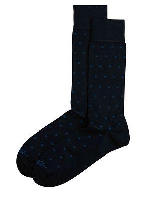Marcoliani Milano Dotted Modal-Blend Socks