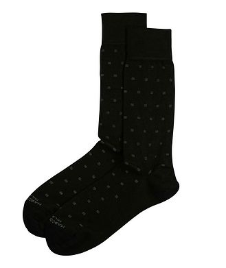 Marcoliani Milano Dotted Modal-Blend Socks