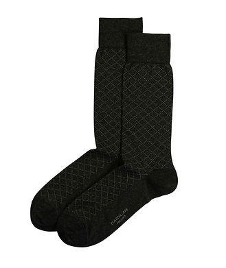 Marcoliani Milano Print Cotton-Blend Socks