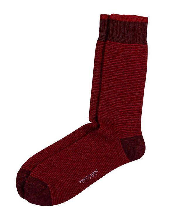 Chaussettes en tricot à rayures picture 1