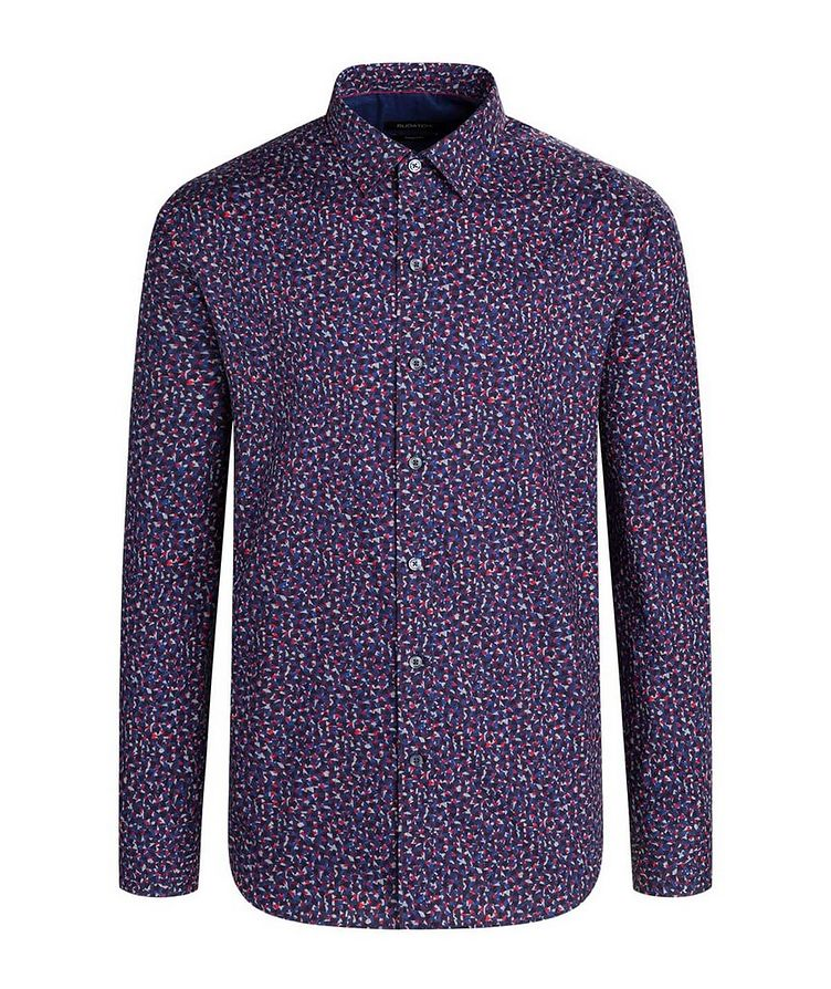 Geometric Print Cotton Shirt image 0