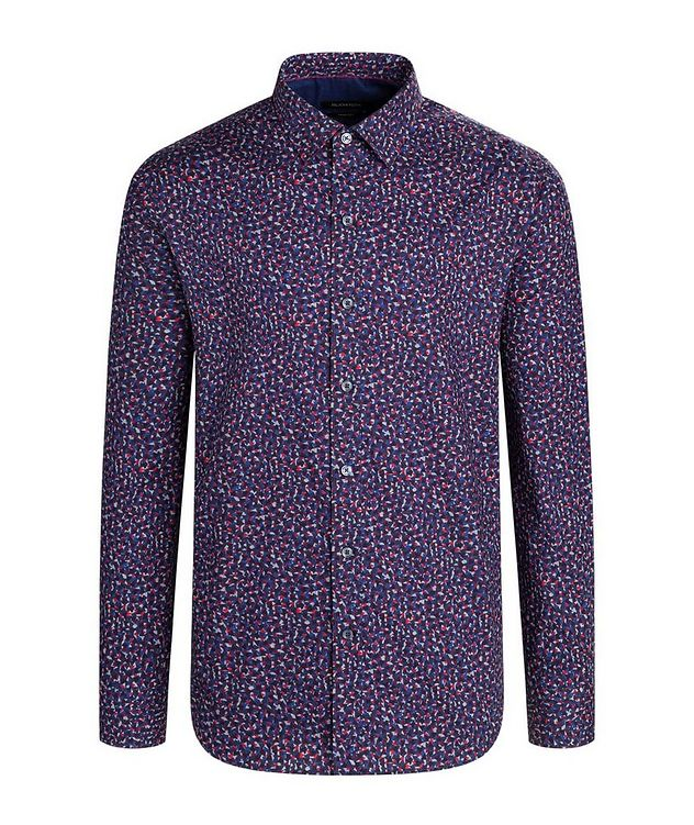 Geometric Print Cotton Shirt picture 1