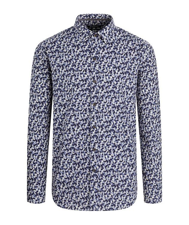 Fruit-Printed Cotton Shirt picture 1