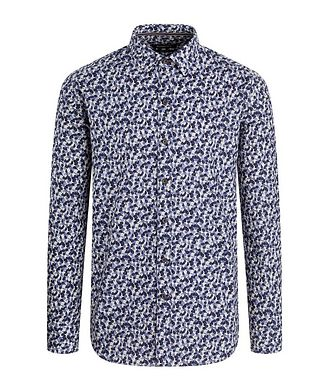 Bugatchi Fruit-Printed Cotton Shirt