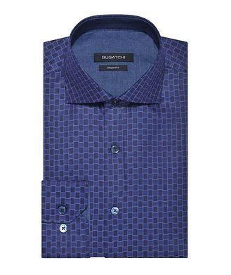 Bugatchi Checkered Cotton Shirt