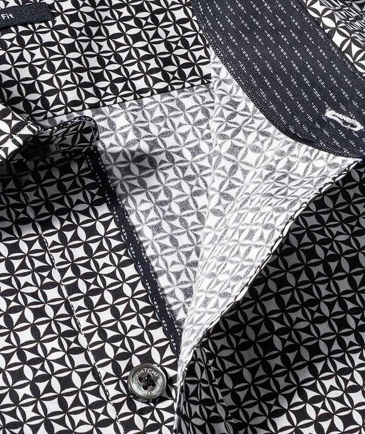 Geometric Cotton Shirt image 1