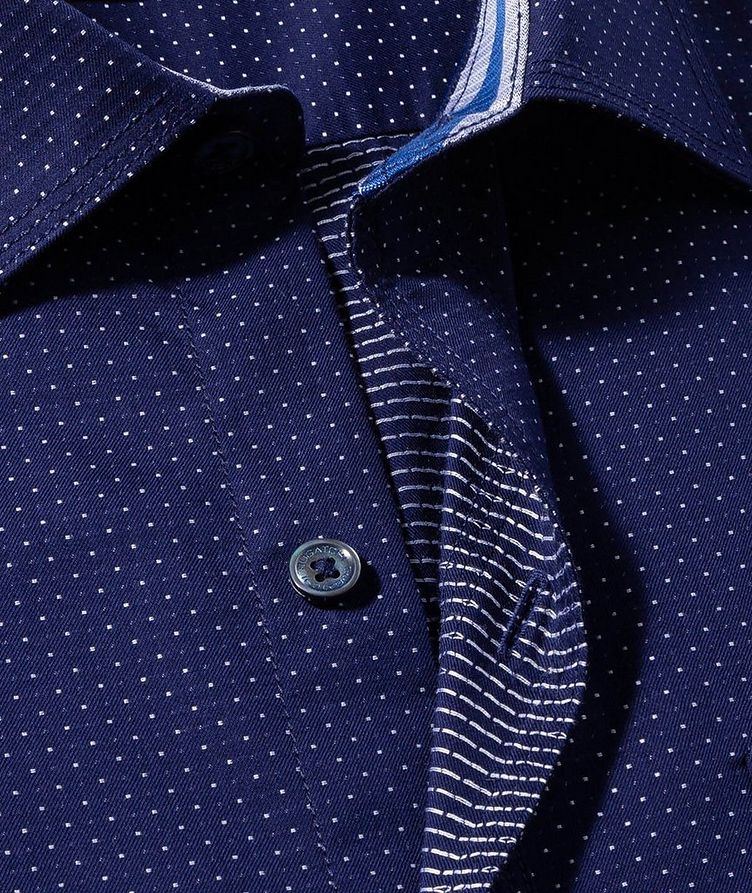 Dotted Cotton Shirt image 1