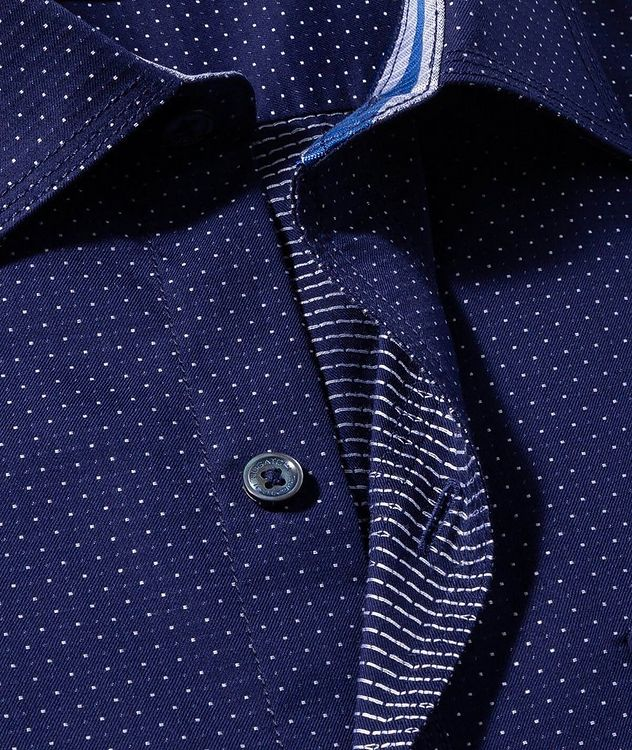 Dotted Cotton Shirt picture 2