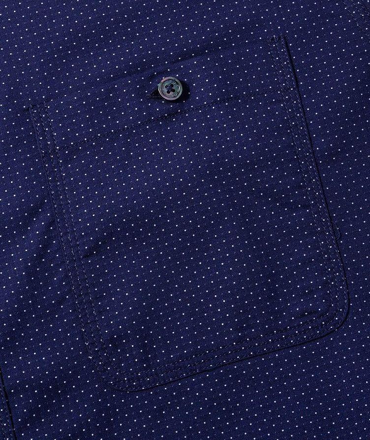 Chemise en coton à pois image 2