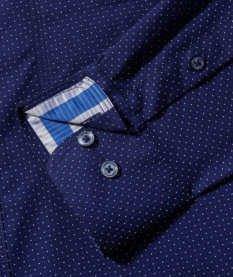 Dotted Cotton Shirt image 3