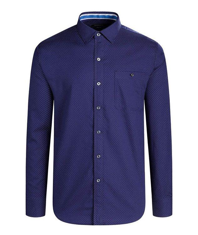 Chemise en coton à pois picture 1