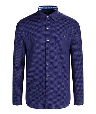 Bugatchi Dotted Cotton Shirt