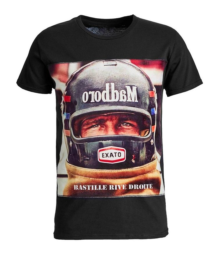 James Hunt Printed Cotton T-Shirt image 0