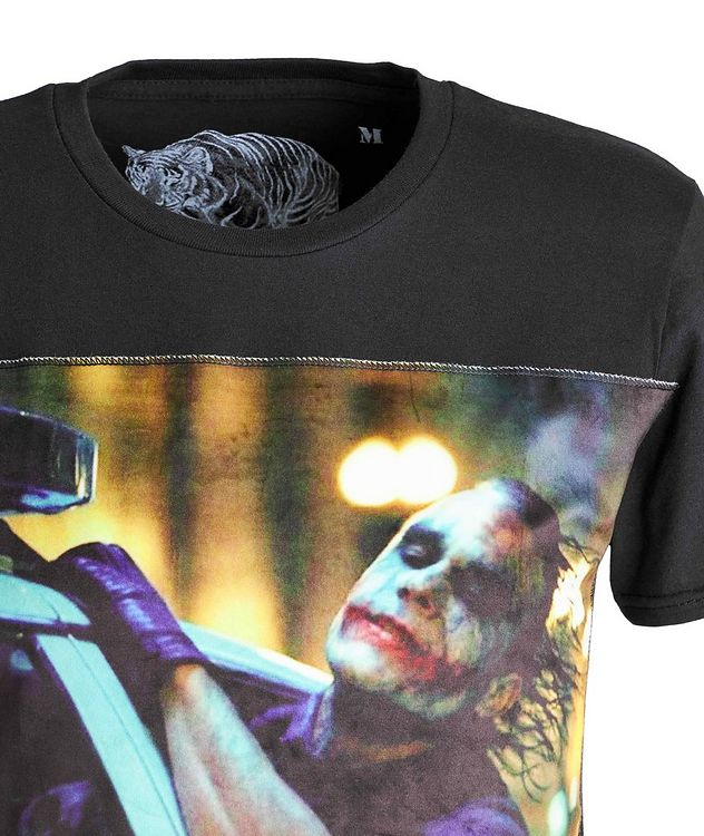 Joker-Printed Cotton T-Shirt picture 3