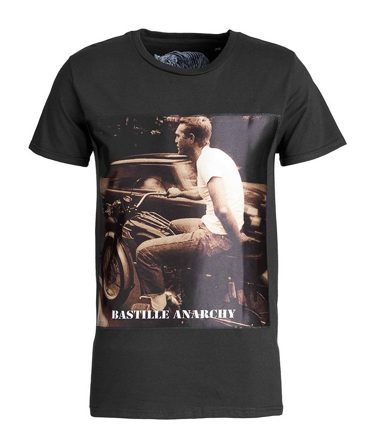 Steve McQueen Printed Cotton T-Shirt image 0