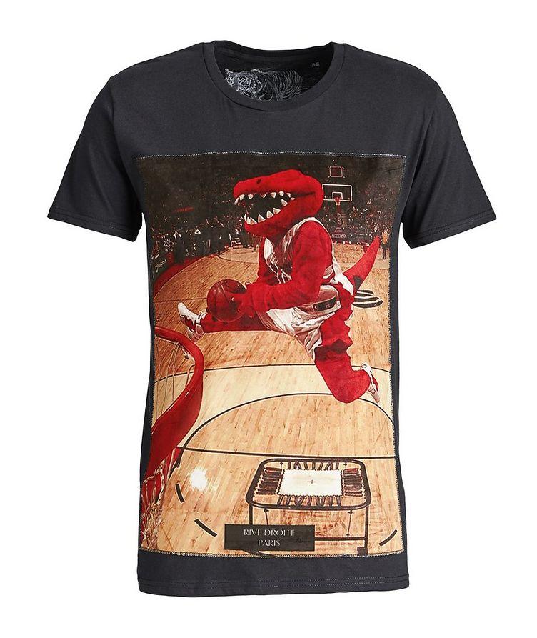 Toronto Raptors-Printed Cotton T-Shirt image 0