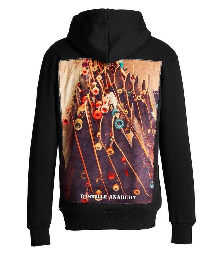 Skate Board Silk-printed Cotton Hoodie image 1