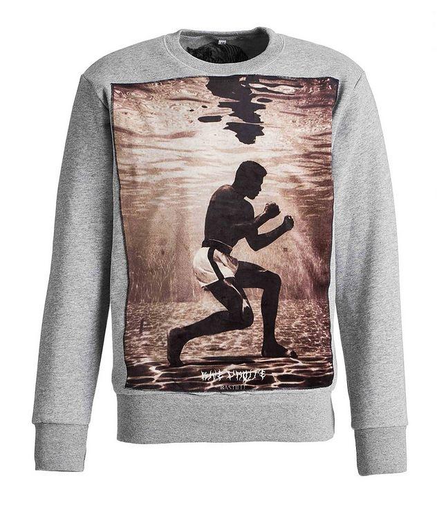 Muhammad Ali-Printed Cotton Sweatshirt picture 1
