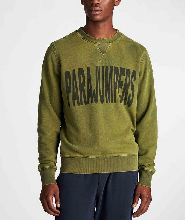 Clem Printed Fleece Sweatshirt picture 2