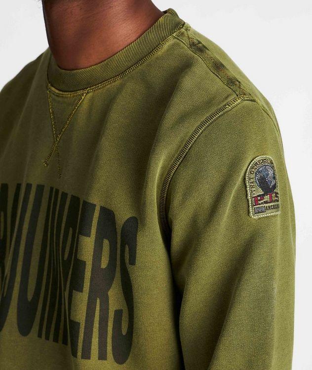 Clem Printed Fleece Sweatshirt picture 4