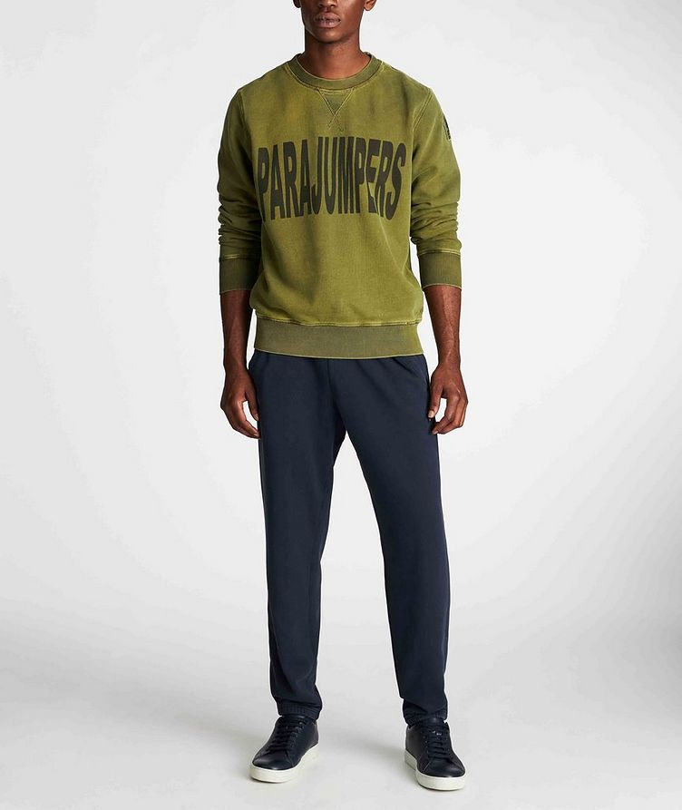 Clem Printed Fleece Sweatshirt image 4