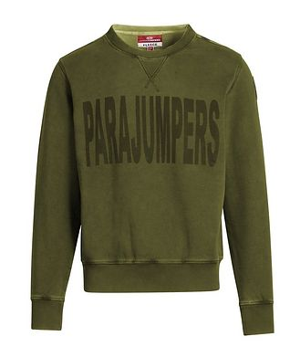 Parajumpers Clem Printed Fleece Sweatshirt