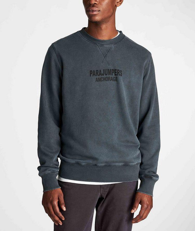 Mat Printed Fleece Sweatshirt image 1