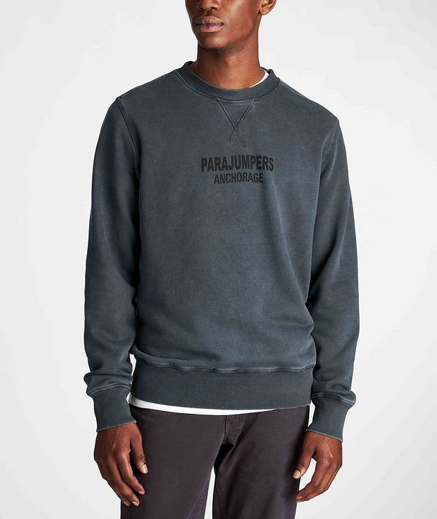 Mat Printed Fleece Sweatshirt picture 2