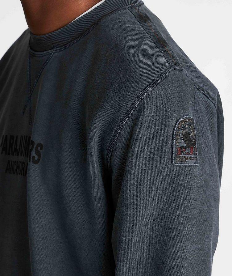 Mat Printed Fleece Sweatshirt image 3