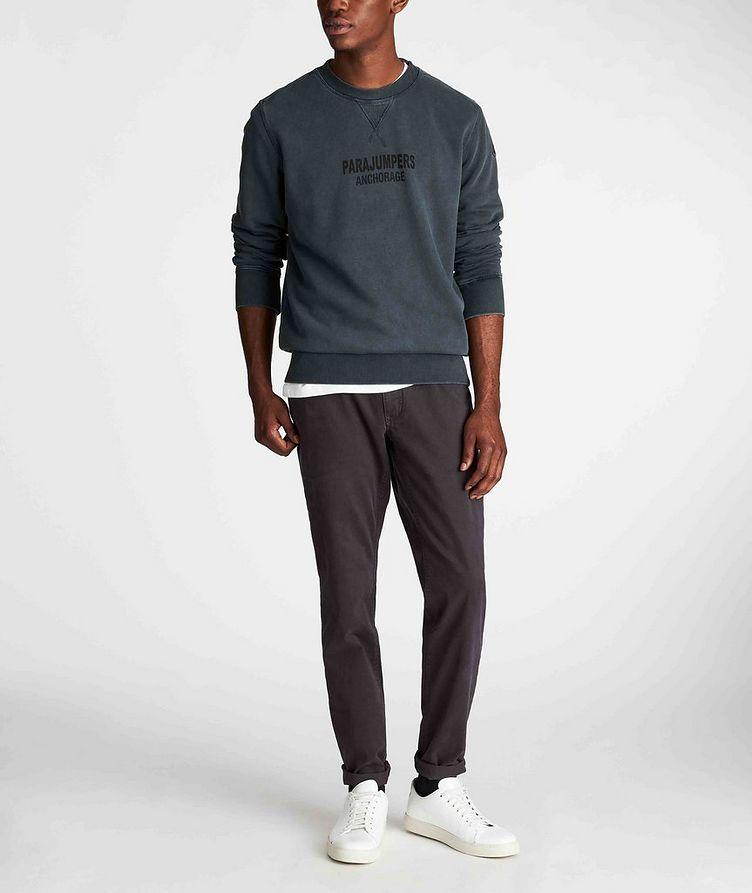 Mat Printed Fleece Sweatshirt image 4