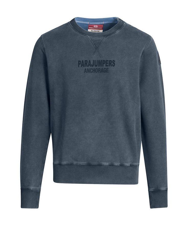 Mat Printed Fleece Sweatshirt image 0