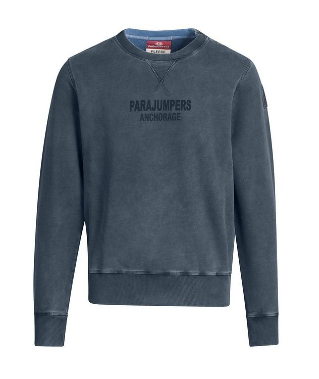 Mat Printed Fleece Sweatshirt picture 1