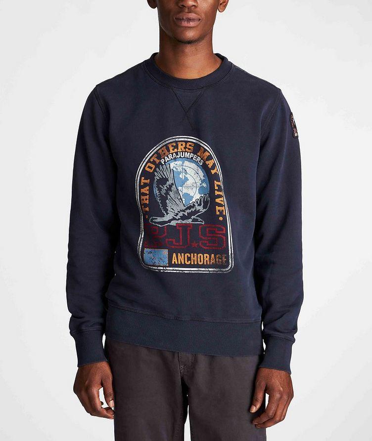 Nate Graphic Fleece Sweatshirt image 1