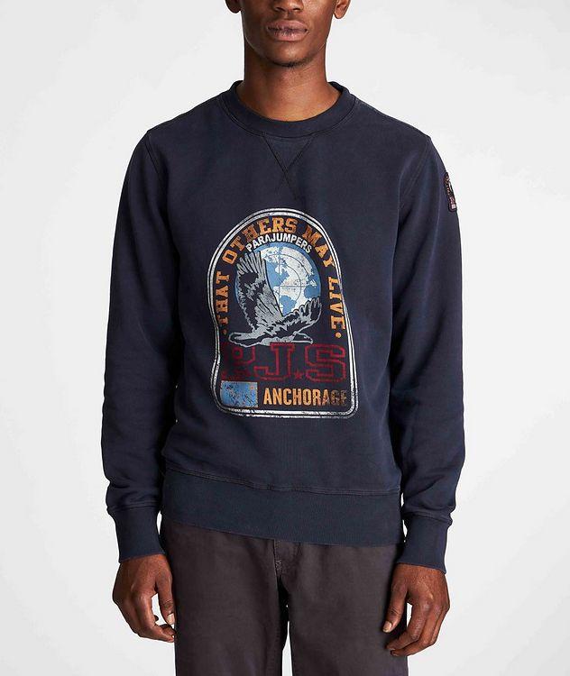 Nate Graphic Fleece Sweatshirt picture 2